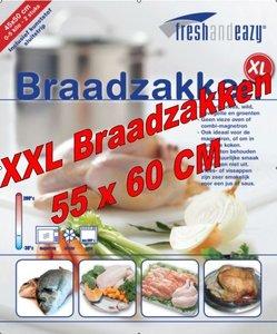 50 XXL Braadzakken 55 x 60 cm